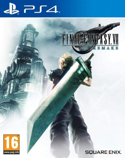Final Fantasy 7 Playstation 4 cover