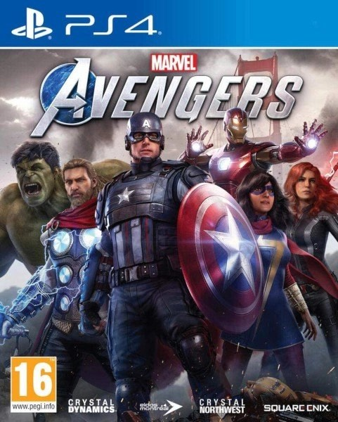 Marvel Avengers Playstation 4 cover