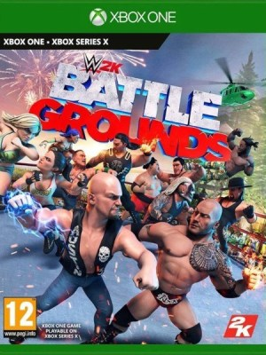 WWE 2K Battlegrounds Xbox One cover