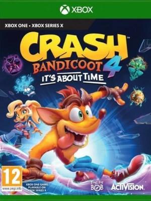 Crash Bandicoot 4 Xbox One cover