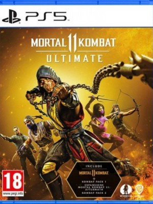 Mortal Kombat 11 Ultimate Playstation 5 cover