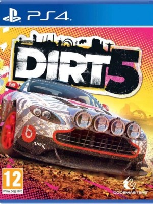 Dirt 5 Playstation 4 cover