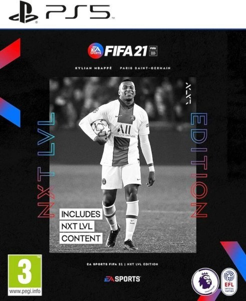 FIFA 21 Nxt Level Playstation 5 cover