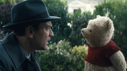 Ewan McGregor plays Christopher Robin opposite his longtime friend Winnie the Pooh in Disney's heartwarming live action adventure CHRISTOPHER ROBIN.