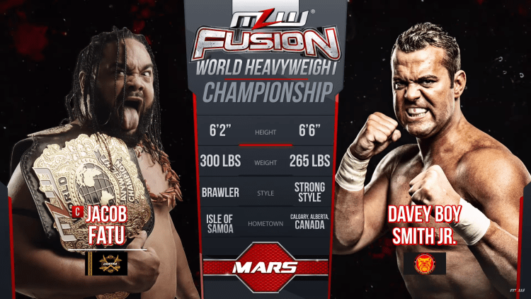 MLW The Restart: Tale of The Tape 2