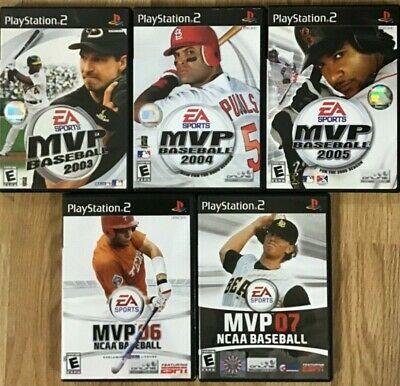 MVP Baseball Titles
