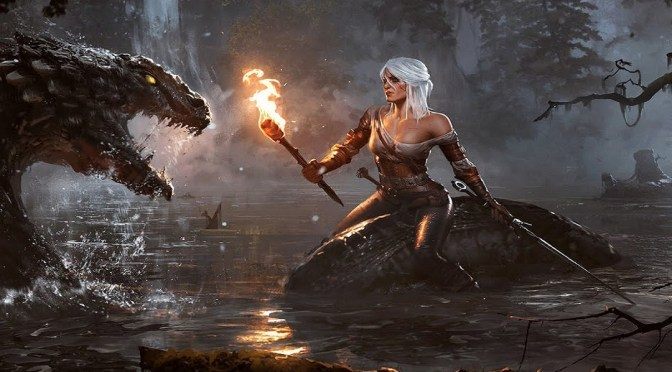 The Witcher 3 – Wild Hunt Play as Ciri