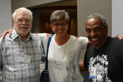 Al Stevens, Margaret Davis, and Donald Woodford representing the Florida Vent Association
