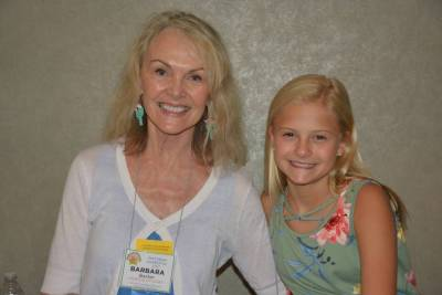 Barbara Baxter and Darci Lynne Farmer