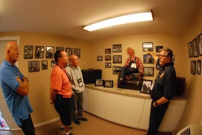 Al Getler shares memories of Bob Isaacson at Bob's Special Exhibit at Vent Haven Museum