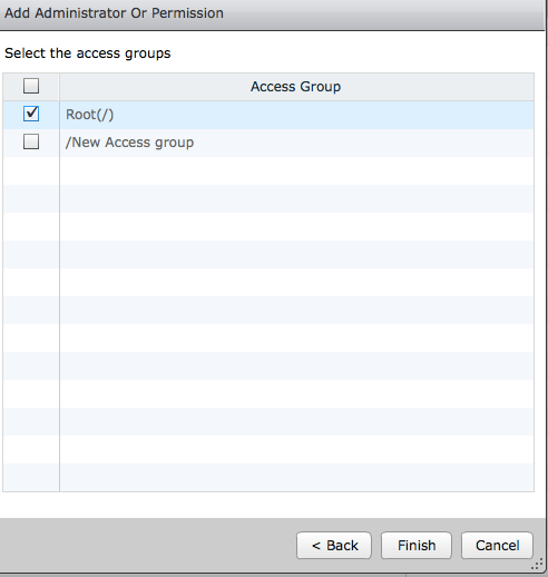 View access groups