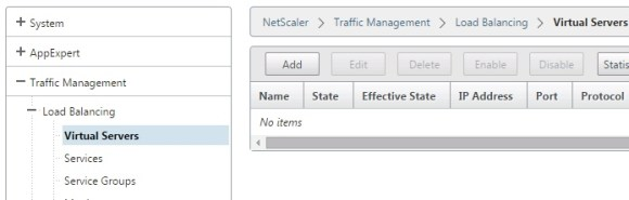 NetScaler Virtual Server