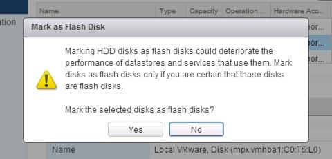 Presenting SSD storage in nested VMware vSphere ESXi  