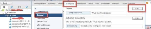 VMware vSphere Swap File