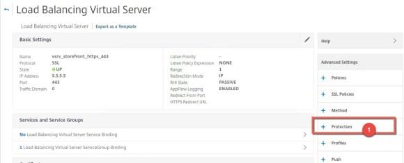 NetScaler backup VIP