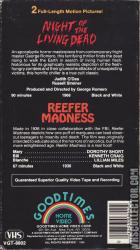 Night Of The Living Dead Reefer Madness Vhscollector Com