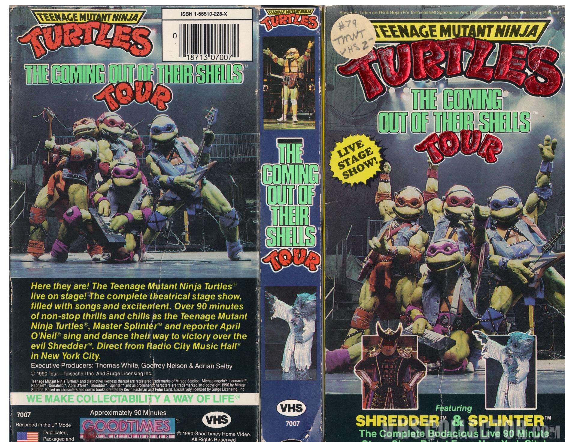 Teenage Mutant Ninja Turtles Coming Out Of Their Shells