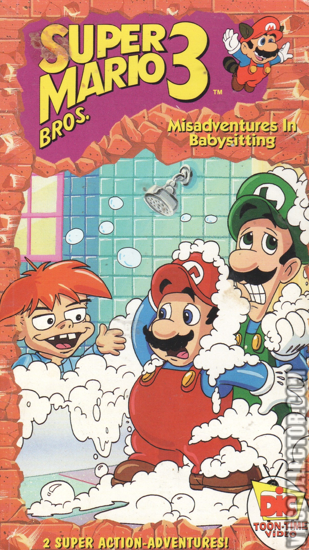 The Adventures of Super Mario Bros. 3: Misadventures In Babysitting | VHSCollector.com