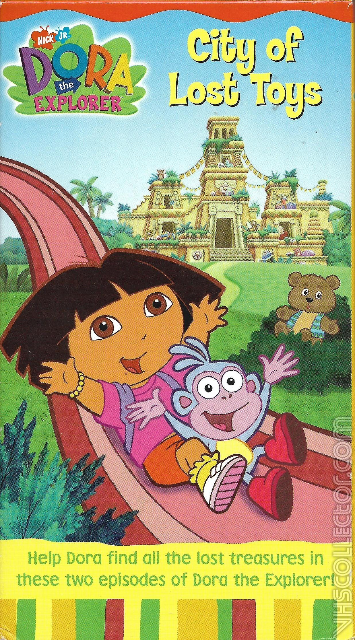 Dora The Explorer City Of Lost Toys