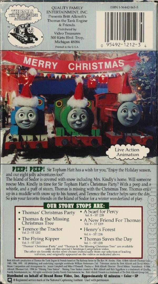 Thomas Christmas Wonderland Vhs.Thomas And Friends Christmas Wonderland Exploring Mars