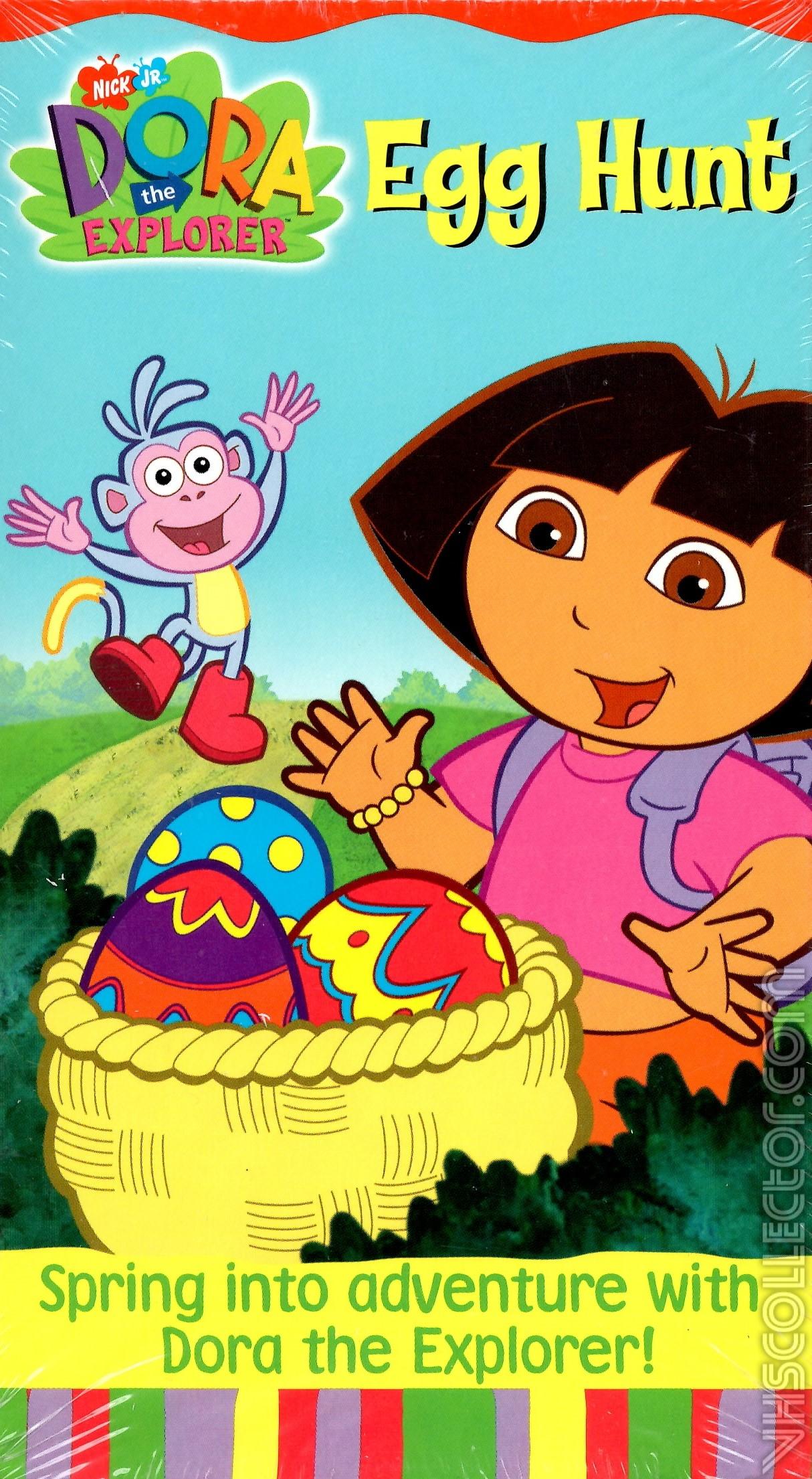 Dora The Explorer Egg Hunt  VHSCollectorcom