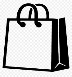 Transparent Clothing Icon Png Shopping Bag Logo Png Png Download vhv