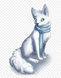 mq #white #fox #animal #cold #animals Animated Arctic Fox Transparent Background HD Png Download vhv