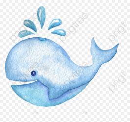 Blue Whale Clipart Whale Clipart Watercolor HD Png Download vhv