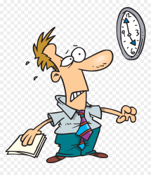 Late Student Png Person Looking At Watch Clipart Transparent Png vhv