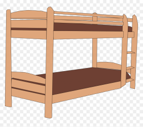 Transparent Child Bed Clipart Bunk Bed Clipart HD Png Download vhv