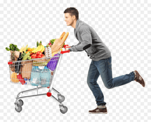Grocery Shopping Cart Png Transparent Png vhv