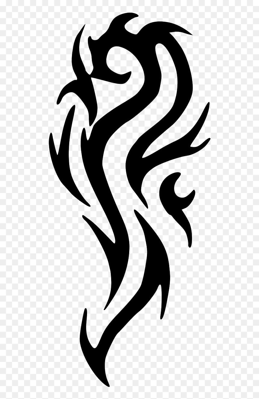Tribal Tattoo Png : tribal, tattoo, Tribal, Tattoos, Image, Temporary, Tattoo,, Transparent