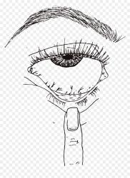 Eye Grunge In 2020 Edgy Aesthetic Drawings Easy HD Png Download vhv