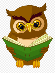 Transparent Owl With Book Png Clipart Picture Books Clipart Transparent Background Png Download vhv