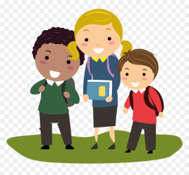 School Kids Cartoon Png Student Cartoon Transparent Background Png Download vhv