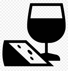 Jedzenie I Wino Icon Meal & Wine Icon HD Png Download vhv