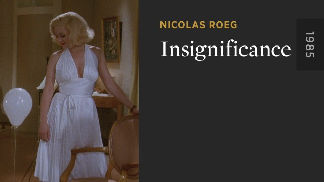 Insignificance - The Criterion Channel