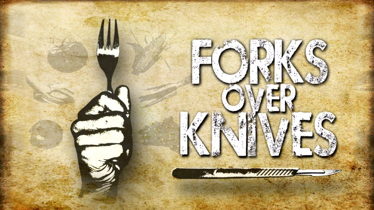 Image result for fork over knives