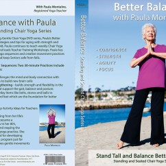 30 Minute Chair Workout For Seniors Price Of Covers In Cape Town Better Balance With Paula Montalvo Yogajp Tv