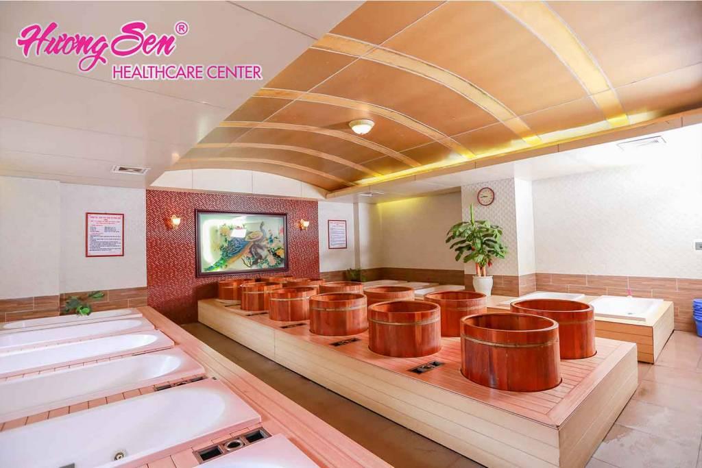massage hương sen
