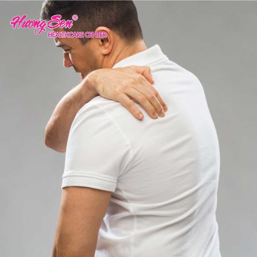 Thoát vị đĩa đệm gây ra đau lưng bên trái phía trên