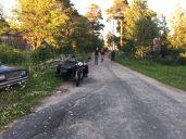 Meidän nuoret ja repolalaisnuoriso kohtaavat. — paikassa Repola, Kareliya, Russia.