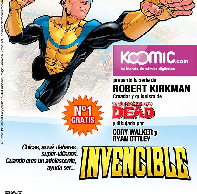 «Invencible», en Koomic