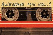 """Awesome Mix Vol.1"", en formato cassette"