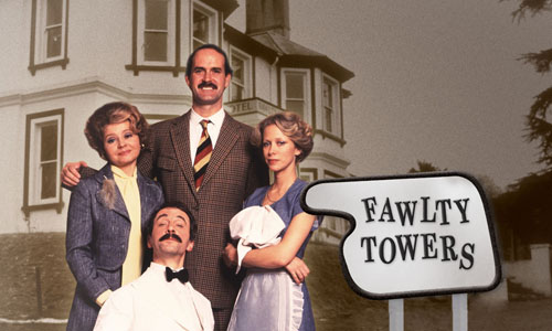 """Fawlty Towers"" (BBC, 1975-1979)"