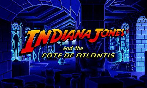 """Indiana Jones and the Fate of Atlantis"" (Hal Barwood y Noah Falstein, 1992)"