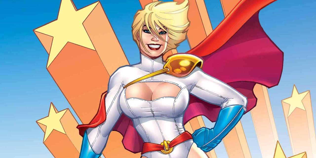 «Power Girl» (Jimmy Palmiotty, Justin Gray y Amanda Conner, ECC Cómics)