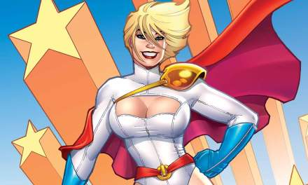 """Power Girl"" (Jimmy Palmiotty, Justin Gray y Amanda Conner, ECC Cómics)"