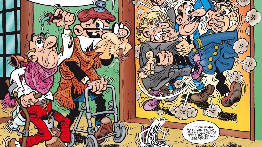 """Mortadelo y Filemon. El 60 aniversario"" (Francisco Ibáñez, Ediciones B)"