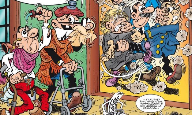 «Mortadelo y Filemon. El 60 aniversario» (Francisco Ibáñez, Ediciones B)